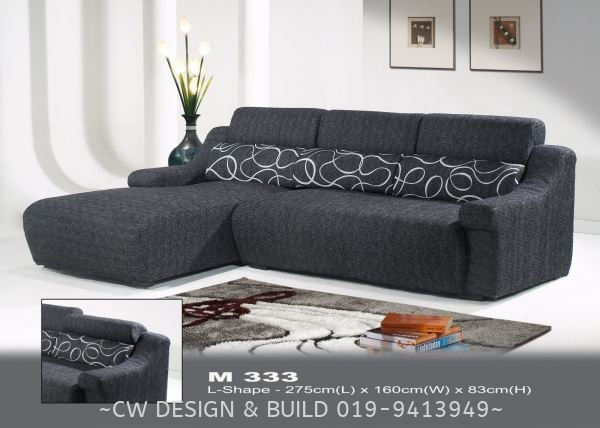Model : 333 Sofa Furniture Design Selangor, Malaysia, Balakong, Kuala Lumpur (KL) Services, Design, Renovation, Company | CW Design & Build Sdn Bhd