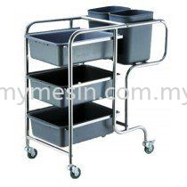 Dishes Collecting Cart