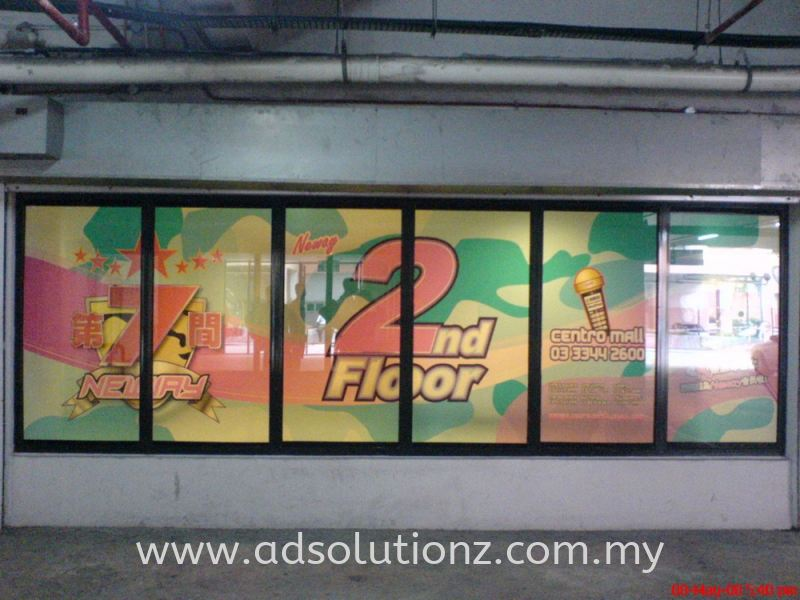 Window Sticker Windows Glass Sticker Inkjet Printing Selangor, Malaysia, Kuala Lumpur (KL), Klang Services, Manufacturer, Supplier, Supply | Adsolutionz Marketing