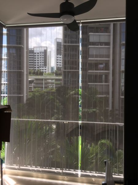 Outdoor Blind At H2O Condo  Johor Bahru (JB), Johor Supplier, Suppliers, Supplies, Supply | Kim Curtain Design & Decorating Enterprise