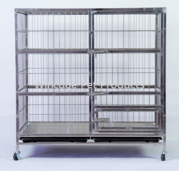 PC 202 Stainless Steel  Cages Selangor, Malaysia, Kuala Lumpur (KL), Sungai Buloh Pet, Supplier, Supply, Supplies | Wincage Pet Products Sdn Bhd