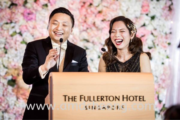 Eileen's Wedding Bridal Actual Day and Lunch/Night Singapore Service   Amanda Cheong Make Up Artist