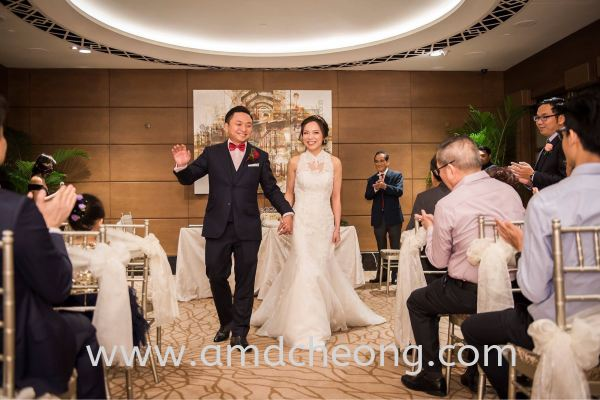 Eileen's Wedding Bridal Actual Day and Lunch/Night Singapore Service | Amanda Cheong Make Up Artist