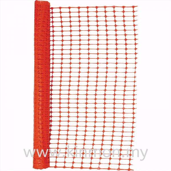 Orange Construction Fencing Netting / Fencing Construction Safety Penang, Malaysia, Georgetown Supplier, Suppliers, Supply, Supplies | Kim Ban Hin Trading Sdn Bhd