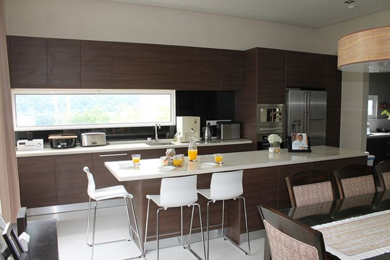 Melawati (3 Pictures) Modern Contemporary Kitchen Cabinet Selangor, Malaysia, Kuala Lumpur (KL), Shah Alam Contractor, Services, Supplier, Company | Reno Concept Sdn Bhd