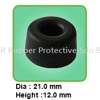 MR-214 Rubber Footings with Adhesive Backed Malaysia, Kedah, Sungai Petani Rubber, Manufacturer, Supplier, Supply | NSR Rubber Protective Sdn Bhd