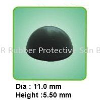 MR-203 Rubber Footings with Adhesive Backed Malaysia, Kedah, Sungai Petani Rubber, Manufacturer, Supplier, Supply   NSR Rubber Protective Sdn Bhd