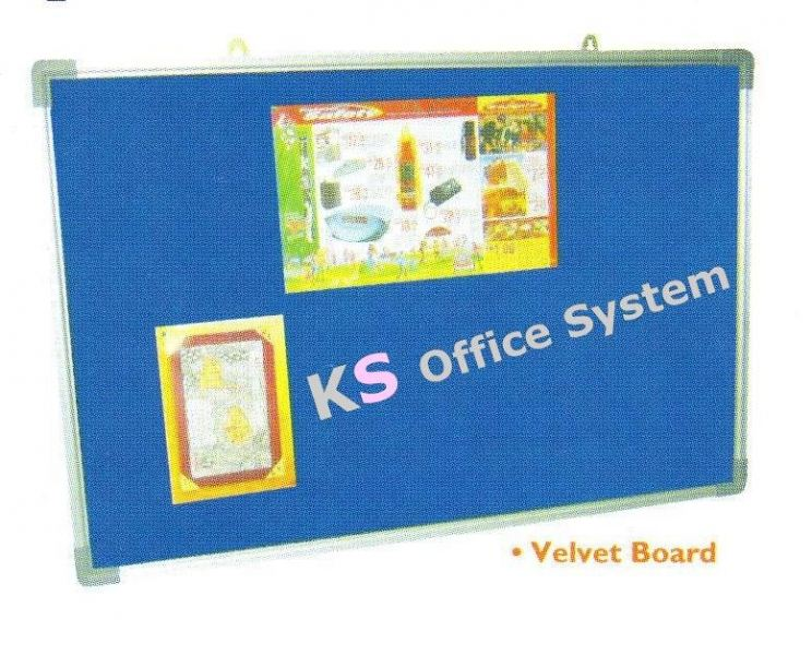 Velvet Board Writing Boards/Flip Chart/Notice Boards Education/Training/Presentation Equipment Malaysia, Kuala Lumpur (KL) Supplier, Office Supply, Manufacturer | KS Office Supplies Sdn Bhd