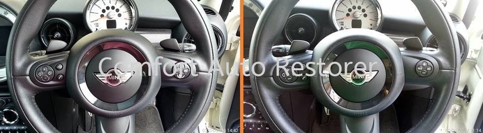 Mini Cooper Multifunction Steering Wheel Buttons Touch-Up Touch-Up & Re-Colouring Selangor, Malaysia, Kuala Lumpur (KL), Petaling Jaya (PJ) Car, Services, Specialist | Comfort Auto Restorer Sdn Bhd