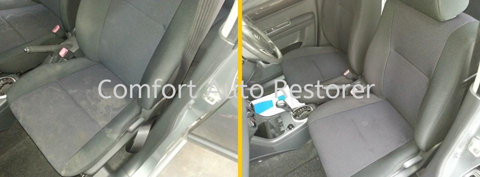 Suzuki Swift Fabric Seats Cleaning Upholstery Steam Cleaning Selangor, Malaysia, Kuala Lumpur (KL), Petaling Jaya (PJ) Car, Services, Specialist | Comfort Auto Restorer Sdn Bhd