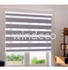 "Zebra Blinds (Grey) - Size: 35"" (W) x 78"" (H) Zebra Blinds Window Blinds Johor Bahru (JB), Masai, Desa Tebrau Supplier, Suppliers, Supply, Supplies | Windeco Curtain"