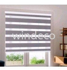 "Zebra Blinds (Grey) - Size: 54""(W) x 78""(H) Zebra Blinds Window Blinds Johor Bahru (JB), Masai, Desa Tebrau Supplier, Suppliers, Supply, Supplies 