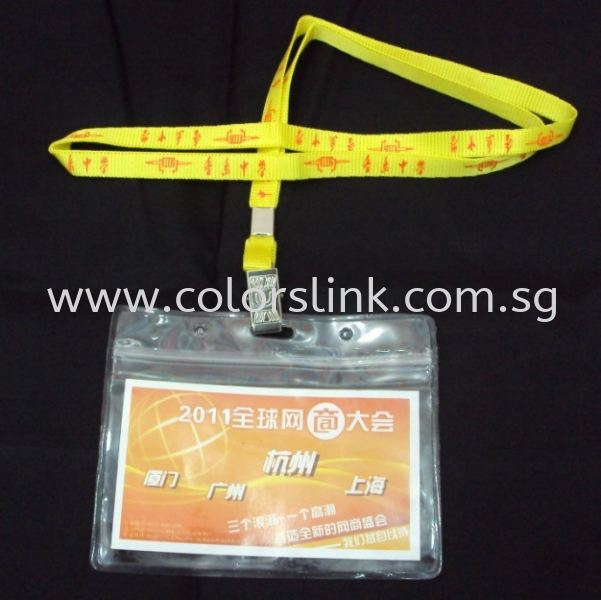 Lanyard & Card Holder Lanyard & Card Holder Corporate Gift Singapore Supplier, Suppliers, Supply, Supplies | Colorslink Trading