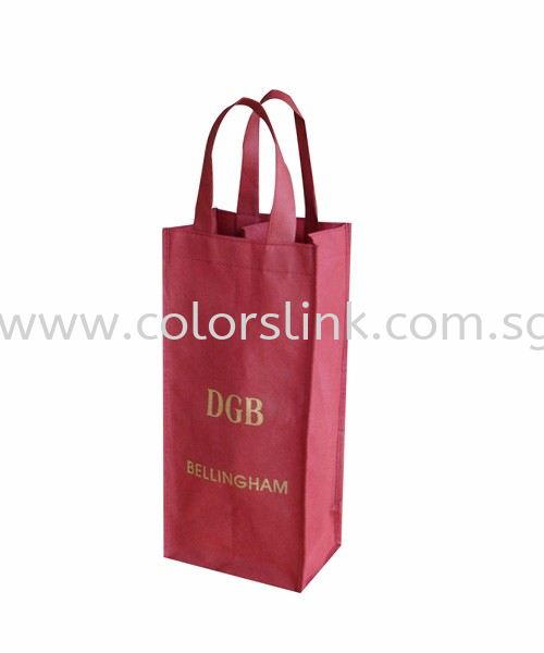 NW-Wine bag-04 Wine Bag Non Woven Eco Friendly Bags Singapore Supplier, Suppliers, Supply, Supplies | Colorslink Trading
