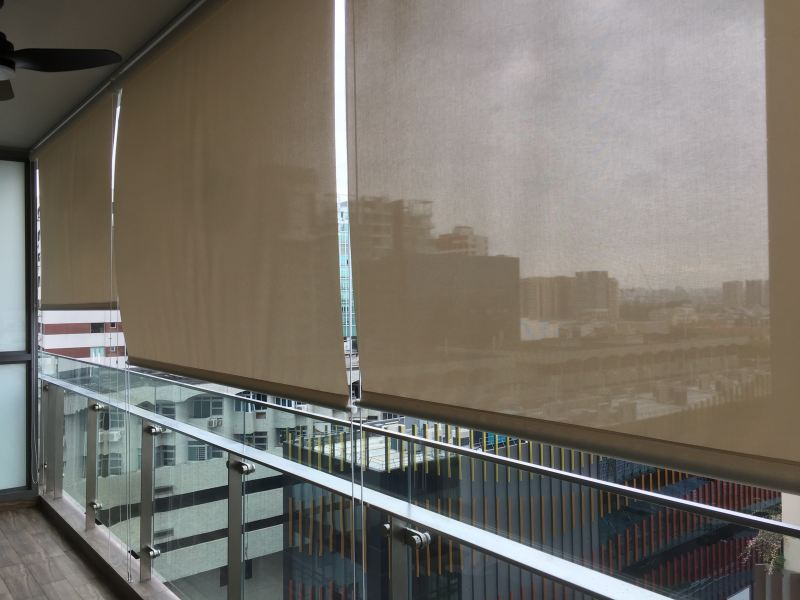 The Sky Outdoor Blind Johor Bahru (JB), Johor Supplier, Suppliers, Supplies, Supply | Kim Curtain Design & Decorating Enterprise