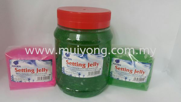 Adorn Setting Jelly Gel Barber Products & Accessories Johor Bahru (JB), Malaysia, Taman Sentosa Supplier, Suppliers, Supply, Supplies   Mui Yong (M) Sdn Bhd