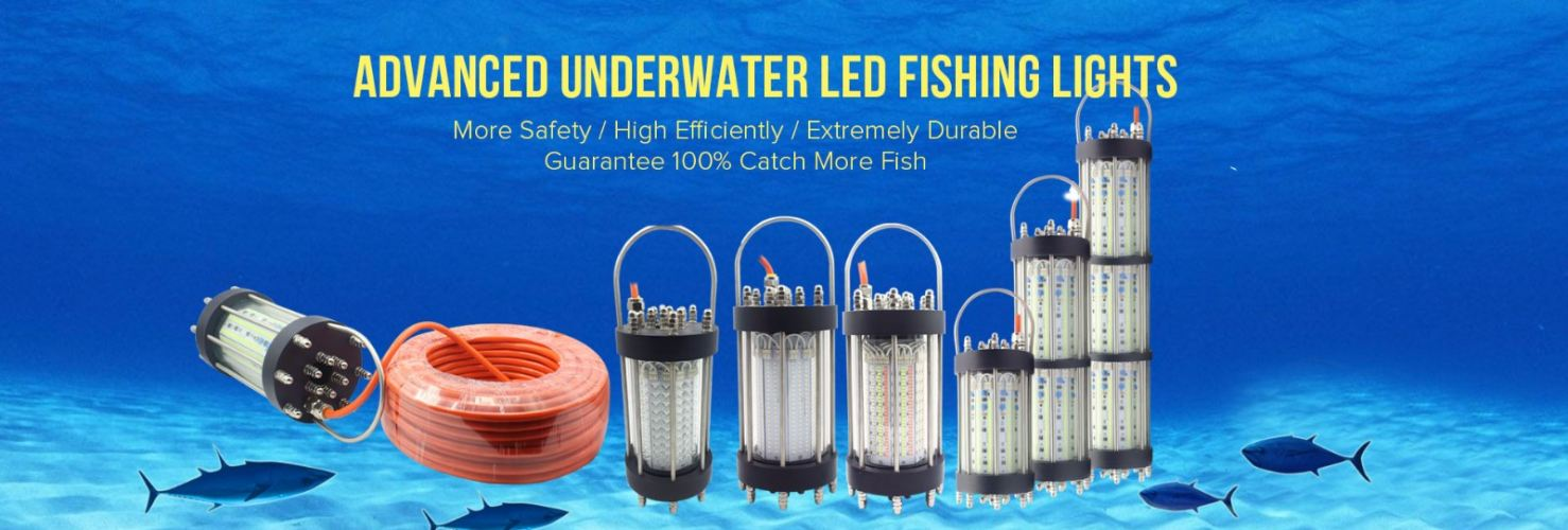 DEEP SEA LIGHTING FISH HARVESTING