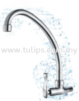 11-318 Wall Sink Tap Fish Handle Tap Series 3 Dolfino Water Tap Plumbing Penang, Malaysia, Penang Street Supplier, Suppliers, Supply, Supplies | Chew Kok Huat & Son Sdn Bhd