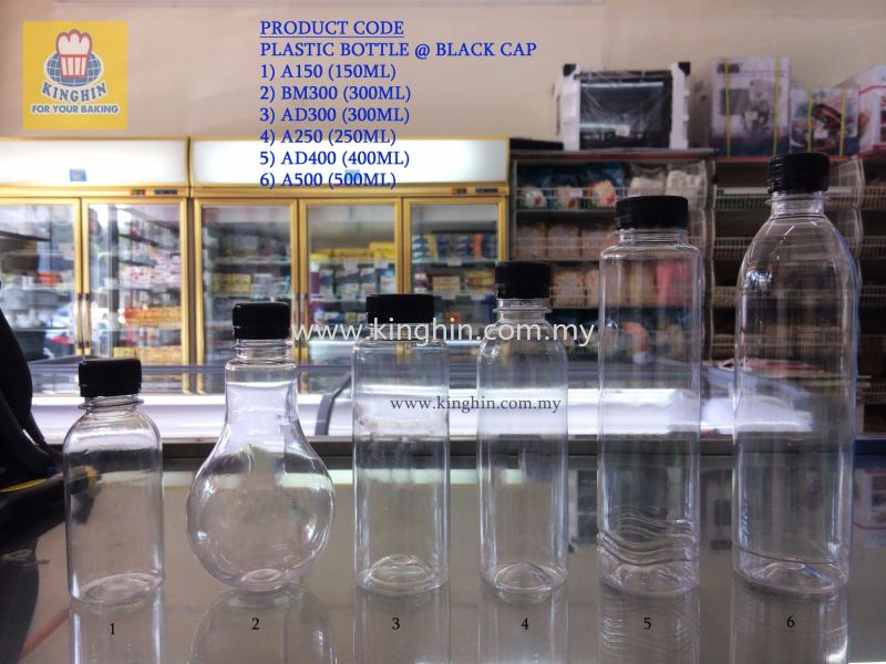 Plastic Bottle @ Black Cap Bottle & Plastic Container Packaging Melaka, Malaysia Supplier, Suppliers, Supply, Supplies | Kinghin Sdn Bhd
