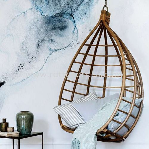 RATTAN HANGING CHAIR BIRD NEST