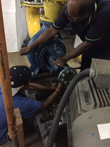 Centrifugal Pump Coupling Change Centrifugal Pump Repair Service Selangor, Malaysia, Kuala Lumpur (KL), Seri Kembangan Repair, Service, Maintenance | DKSB ENGINEERING