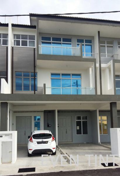 Silver Blue Color Safety Film and Solar Film Selangor, Malaysia, Kuala Lumpur (KL), Semenyih Supplier, Suppliers, Supply, Supplies | Even Tint