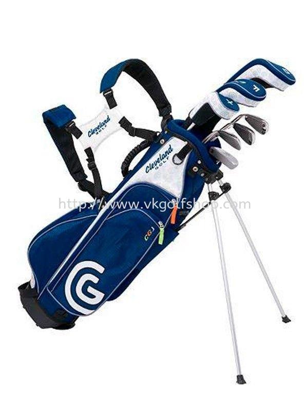 Cleveland Complete Junior Set w/Bag 7-Piece Set Size Large Ages 10-12