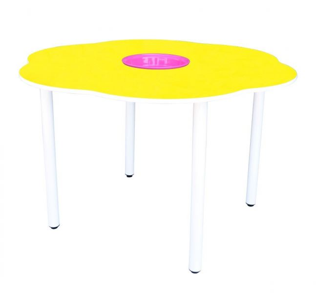 Q030H  4' Flower Shaped Manipulative Table (H:76cm) Secondary School Table  Kids Furniture Johor Bahru JB Malaysia Supplier & Supply | I Education Solution