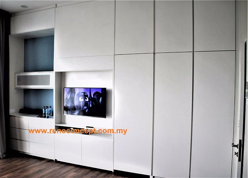 Seremban 2 (2 Pictures) Wardrobes & Built In Cabinet Selangor, Malaysia, Kuala Lumpur (KL), Shah Alam Contractor, Services, Supplier, Company | Reno Concept Sdn Bhd