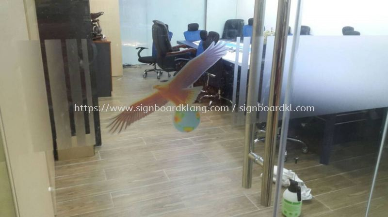 Emperor Group office glass Frosted Sticker at botanic Klang Frosted Sticker Selangor, Malaysia Supply, Manufacturers, Printing | Great Sign Advertising (M) Sdn Bhd