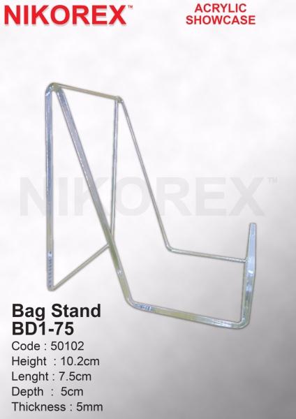50102-Bag Stand BD1-75 Bag Stand ACRYLIC ORGANIZERS Malaysia, Johor Bahru (JB), Singapore, Selangor, Kuala Lumpur (KL), Melaka Supplier, Manufacturer, Supply, Supplies   Nikorex Display Products (M) Sdn Bhd