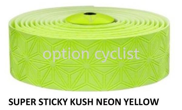 NEON YELLOW Super Sticky Kush Single Color SUPACAZ Others Kedah, Malaysia, Sungai Petani Bicycle, Supplier, Supply, Shop | Option Cyclist