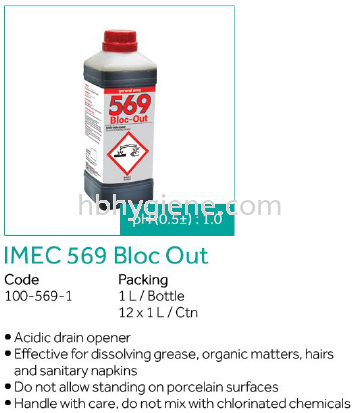 IMEC 569 Bloc Out Pest Control Cleaning Chemicals Pontian, Johor Bahru(JB), Malaysia Suppliers, Supplier, Supply | HB Hygiene Sdn Bhd