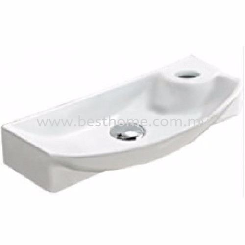 WALL HUNG WASH BASIN TREVI / LC-SYW-WHB-07692-WW Wall-Hung Basin Basin Johor Bahru (JB), Malaysia, Johor Jaya Supplier, Suppliers, Supply, Supplies | Best Home Kitchen & Bathroom Solution