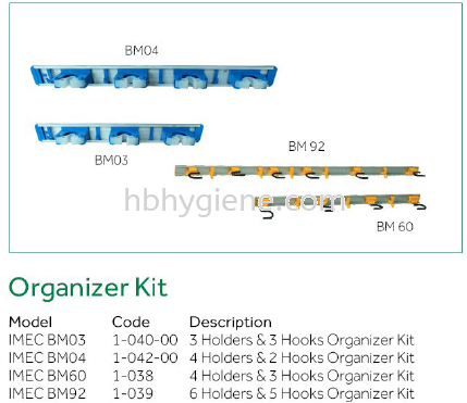 Organizer Kit  Others Cleaning Equipment Pontian, Johor Bahru(JB), Malaysia Suppliers, Supplier, Supply | HB Hygiene Sdn Bhd