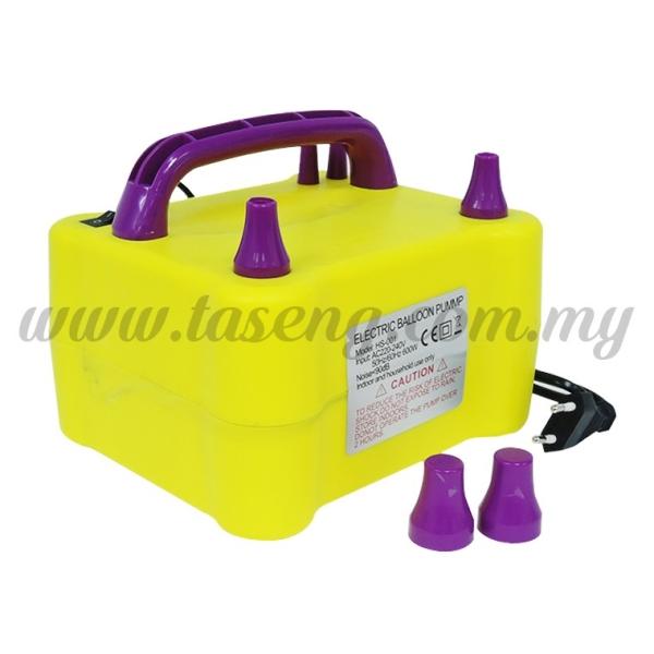 2 Nozzle Electric Pump 02 (BP-ELT-02) Balloon Pump Malaysia, Kuala Lumpur (KL), Selangor, Batu Caves Supplier, Suppliers, Supply, Supplies | Taseng Marketing Sdn Bhd