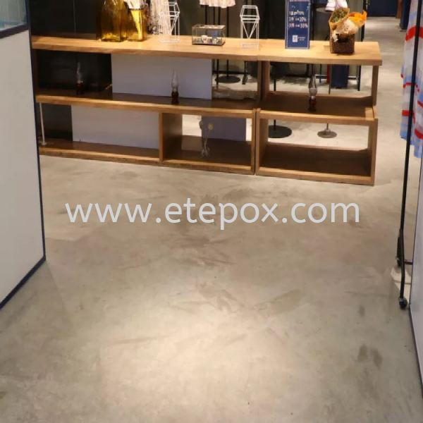 Retro Epoxy Natural Effect Coating Selangor, Malaysia, Kuala Lumpur (KL), Cheras Supplier, Suppliers, Supply, Supplies | Etepox Solution Sdn Bhd