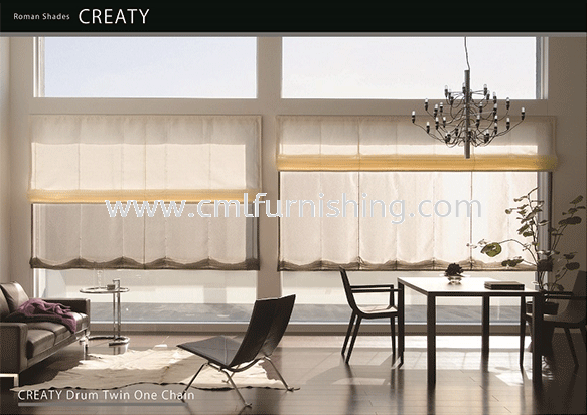 toso-japanese-motorized-double-twins-roman-shade-detachable-tape-easy-remove-blinds-one-touch-system toso roman shade TOSO Premium Products Kuala Lumpur, KL, Malaysia Supplier, Manufacturer | CML Furnishing Sdn Bhd