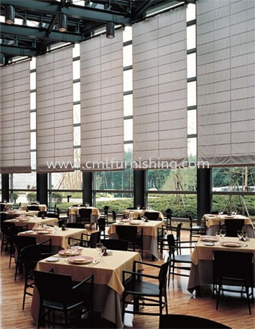 toso-japanese-roman-shade-blinds-one-touch-system