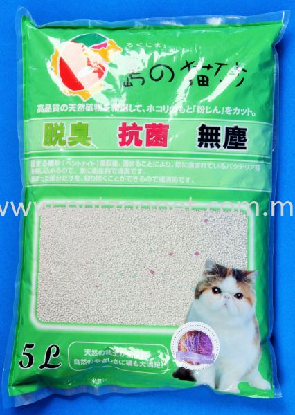 1014-5L CAT LITTER 膨润土猫沙   Supplier, Wholesaler, Exporter, Supply | Starcage Pet Products Sdn Bhd