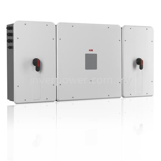 TRIO-TM-50.0/60.0 String Inverter-3 Phase ABB Solar Inverters ABB Selangor, Malaysia, Kuala Lumpur (KL), Subang Jaya Supplier, Suppliers, Supply, Supplies | InverPower Sdn Bhd