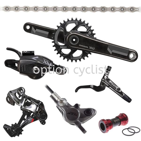 XX1 GROUPSET MTB SERIES SRAM Kedah, Malaysia, Sungai Petani Bicycle, Supplier, Supply, Shop | Option Cyclist