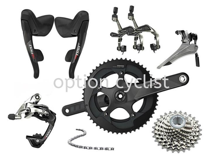 RED 22 GROUPSET ROAD SERIES SRAM Kedah, Malaysia, Sungai Petani Bicycle, Supplier, Supply, Shop | Option Cyclist