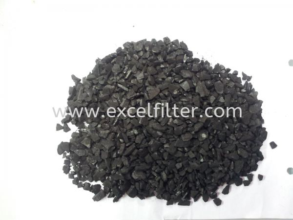 Palm Activated Carbon (4x8) Activated Carbon Media Materials Selangor, Malaysia, Kuala Lumpur (KL), Cheras Supplier, Suppliers, Supply, Supplies | Excel Filter Sdn Bhd