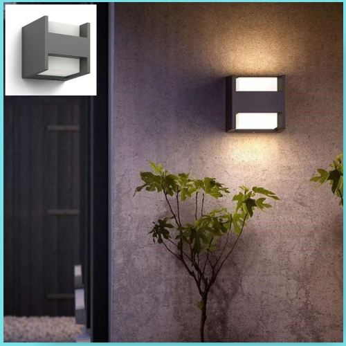 """PHILIPS MASSIVE 16459 """"ARBOUR"""" QUALITY GARDEN UP/DOWN WALL LIGHT."""