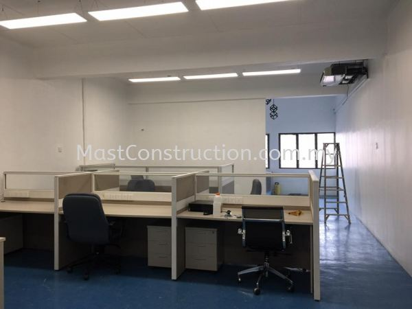 Office Renovation Commercial Residential/Commercial Construction  Selangor, Puchong, Kuala Lumpur (KL), Malaysia Contractor, Service, Company     Mast Construction
