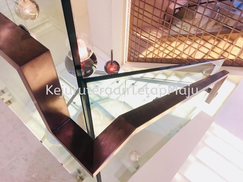 Handrail Condominium House Design at KL, Malaysia Decoration ( Stainless Steel, Mild Steel, Aluminium ) Selangor, Malaysia, Kuala Lumpur (KL), Kajang Services, Works | Kejuruteraan Tetap Maju Sdn Bhd