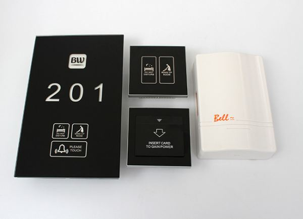 Hotel Touch Door Plate Hotel DND Door Bell System Guest Room Amenities Selangor, Malaysia, Kuala Lumpur (KL), Shah Alam Supplier, Suppliers, Supply, Supplies | Teamcore Resources Sdn Bhd
