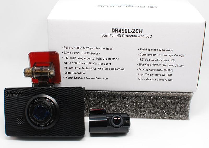 BlackVue DR490L-2CH BlackVue Driving Video Recorder (DVR) Singapore, Toa Payoh Supplier, Supply, Wholesaler, Distributor | Fumitshu (S) Pte Ltd