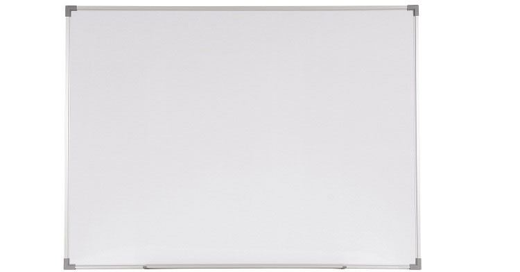 Non-Magnetic Whiteboard with Aluminium Frame